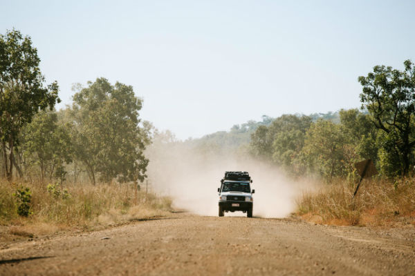 4wd MacDonnell Ranges