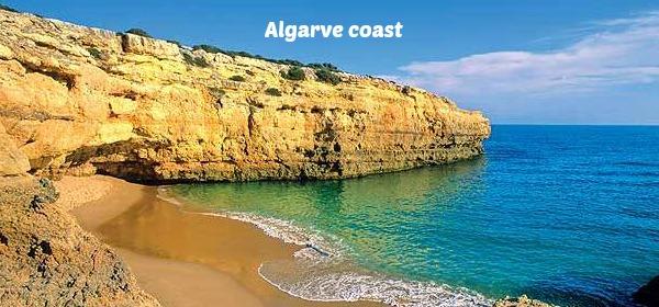 Motorhome drive to Algarve coast