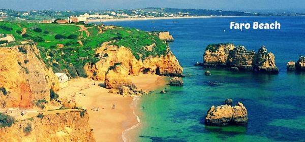 Portugal motohome hire to Faro coastline