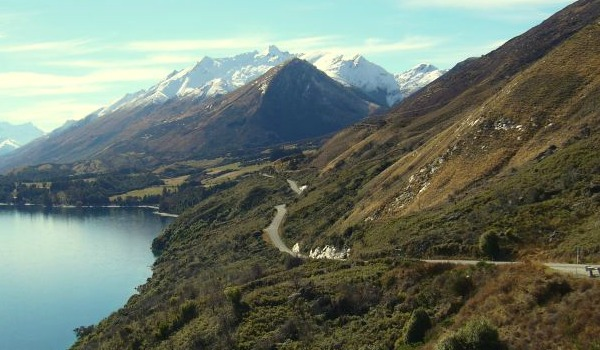 glenorchy road view