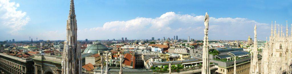 Milan top view