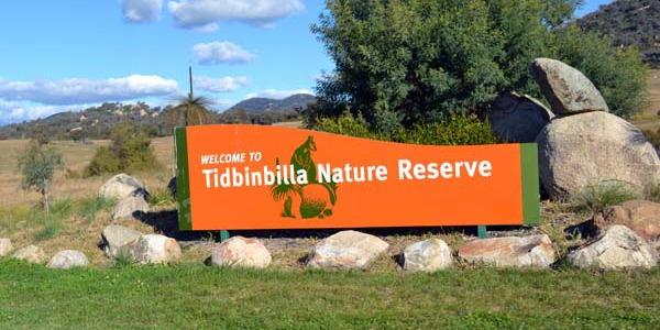 tidbinbilla nature reserve
