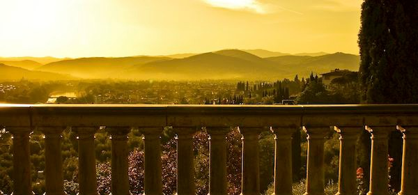 Motorhome for Tuscan villas