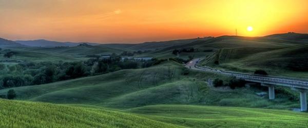 drive your motorhome to tuscany region
